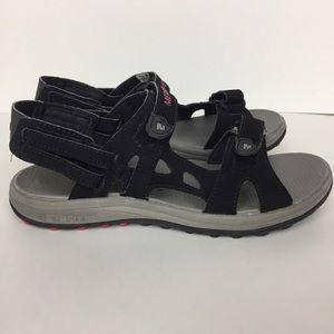 Merrell Cedrus Ridge Black Convertible Sandals